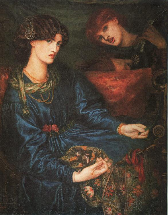 Dante Gabriel Rossetti Mariana France oil painting art